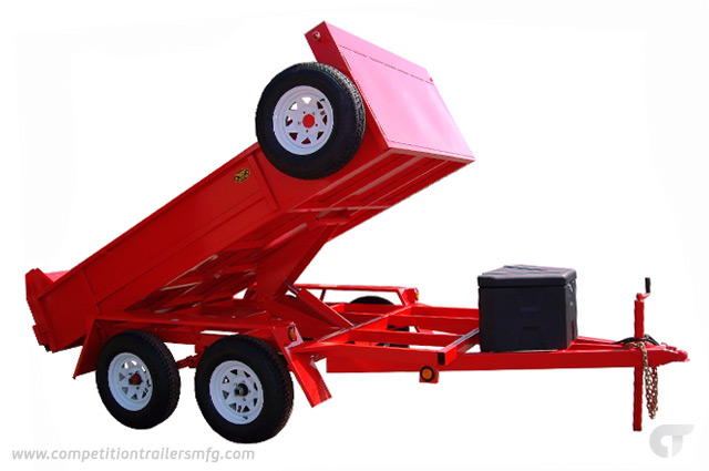 SCISSOR LIFT DUMP</br> 6′ x 12′ Barn Doors